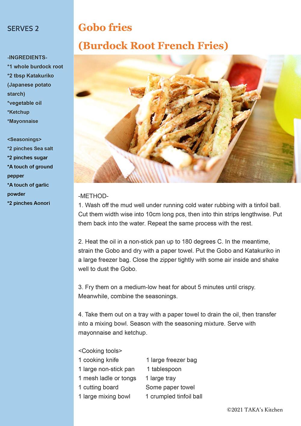 Gobo fries